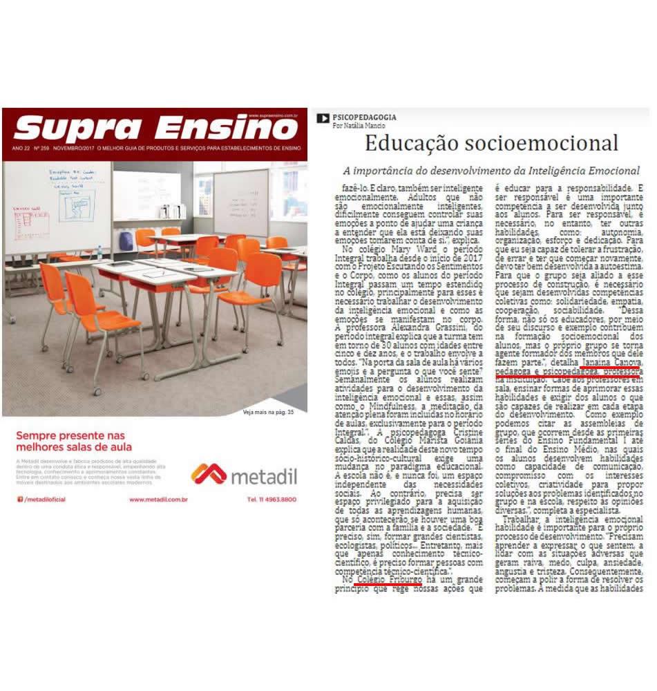 Cliente Colégio Friburgo - Revista Supra Ensino