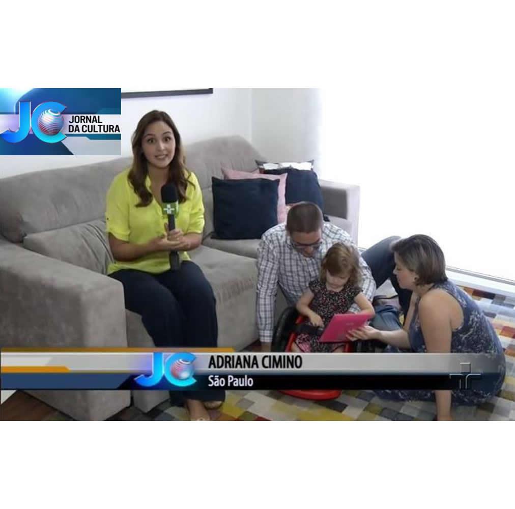 Cliente Fly Children no Jornal da Cultura