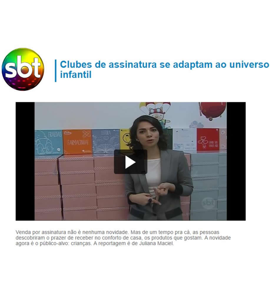 Cliente PetiteBox no SBT