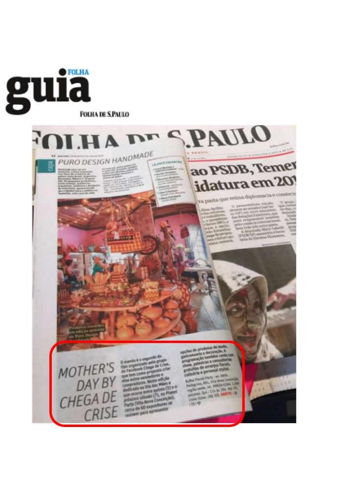 Cliente Trend Lover no Guia da Folha de S. Paulo